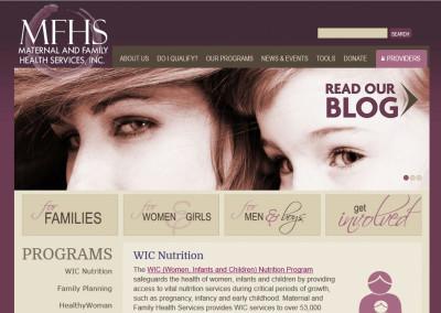 MFHS WEBSITE DESIGN
